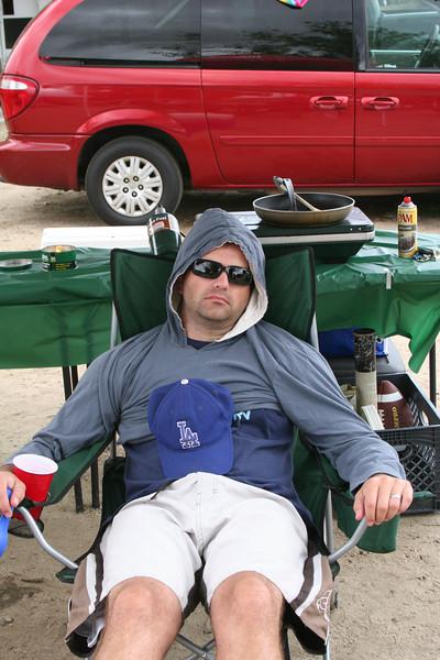 Camping at Vail Lake