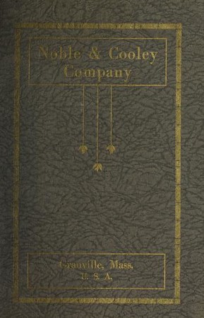 1924 Noble & Cooley Catalog