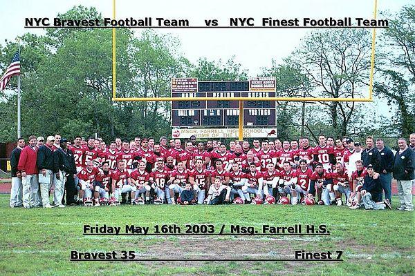 2003 FDNY 35  vs NYPD 07
