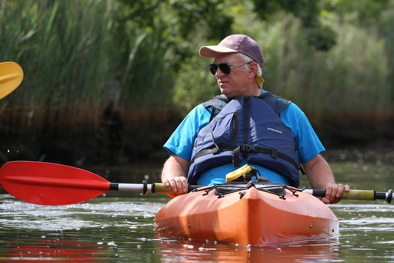 Kayaking on the Connetquot River, Islip/Oakdale NY.