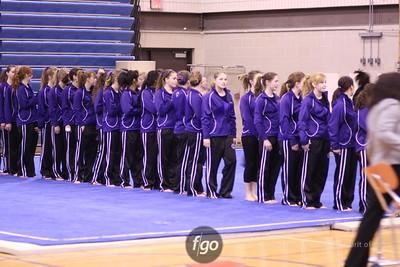 Southwest v Washburn-Roosevelt Gymnastics 1-14-09