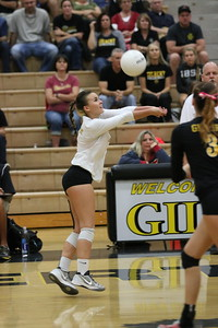 2015 GHS Volleyball vs Red Mountain 10-27-15