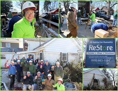 Habitat for Humanity Restore DeCON Team: Grandview Road, Verona 02.14.2017