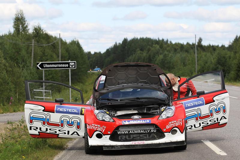 MOTORSPORT - WORLD RALLY CHAMPIONSHIP 2011 - FINLAND RALLY / RALLYE DE FINLANDE - JYVASKYLA (FIN) - 29 TO 31/07/2011 - PHOTO: FRANCOIS BAUDIN / DPPI -
