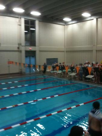 Swim Meet vs Oliver Ames 12-17