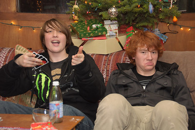 Christmas Eve 2012 at Jeanni's