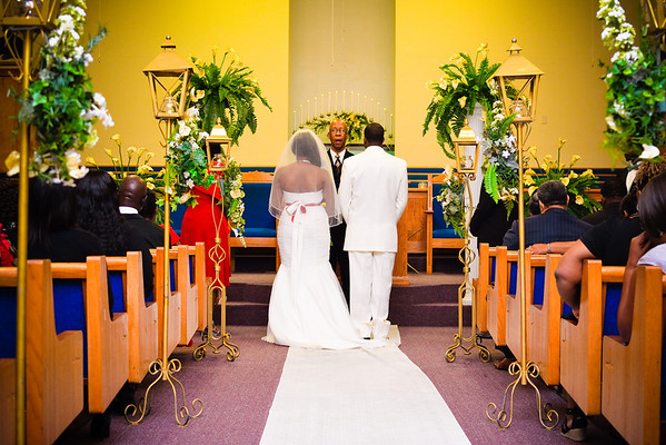 Octavia & Christopher's Ceremony Gallery