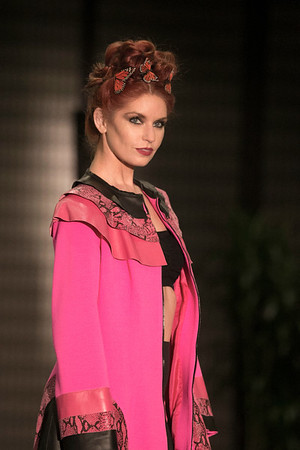 Designer Tatiana Shabelnik at LA Fashion Showcase