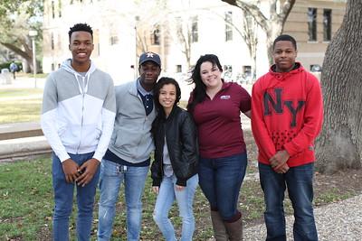 Jordan Polk Campus Visit