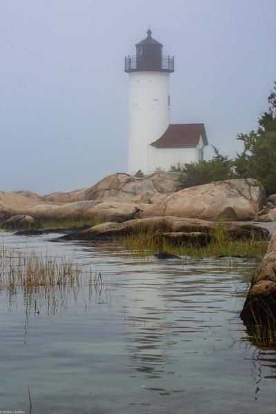 Annisquam Lighthouse in Fog