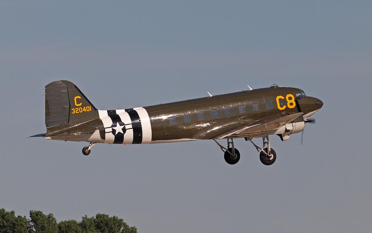 C-47 at AirVenture - 29 July 2011