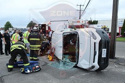 North Amityville Fire Co. MVA w/ Overturn  Adams St. 9/1/21