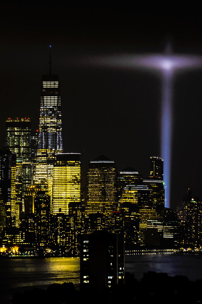 Freedom Tower and Light Tribute