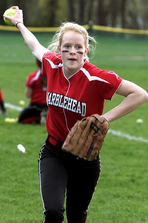 Salem vs MArblehead Softball