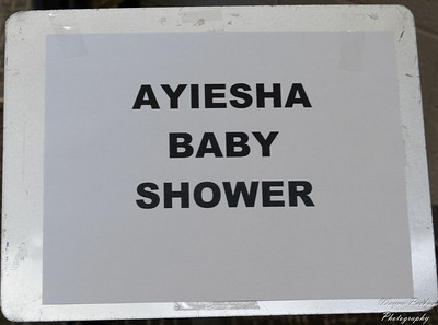 AMON AND AYIESHA'S BABY SHOWER