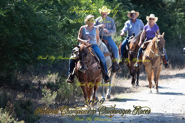 Trail Ride to pond and Picnic