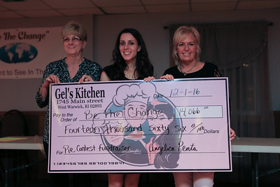 "Gel's Kitchen ""Be The Change"" Fund Raiser"