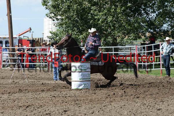 Nanton Barrel Racing Day 1