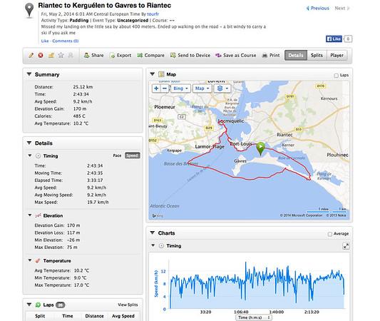 2014 May 01 - GPS Screen Shots