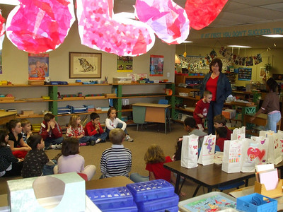 CMS Valentine's Day party