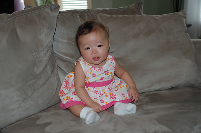 December 2, 2007 - Thanks Auntie for my dress, it finally fit after 6 monthes.