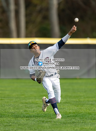 4/29/2019 - Varsity Baseball - Winchendon vs Belmont Hill