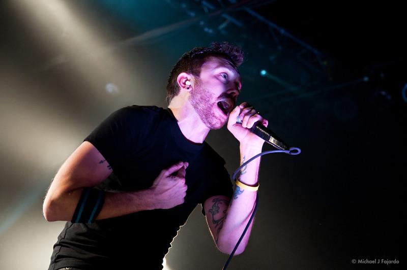 Tim McIlrath Rise Against Fillmore Auditorium, Denver, CO  April 16, 2011