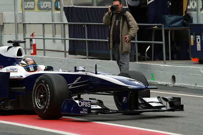 Barcelona F1 Test (2010)