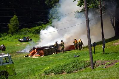 06-19-13 West Lafayette FD House Fire