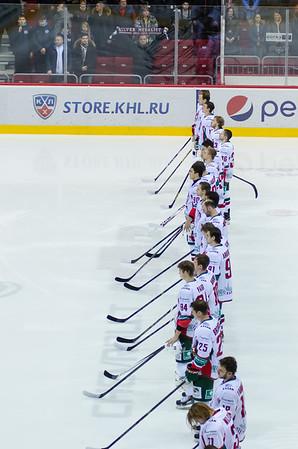 Трактор (Челябинск) - Ак Барс (Казань) 2:3 Б. 3 декабря 2014