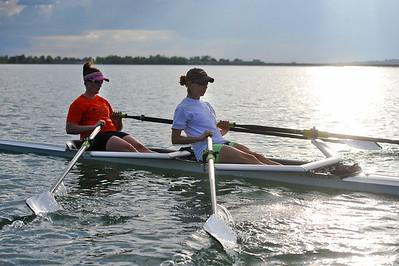 Rowing Training at Boulder Reservoir