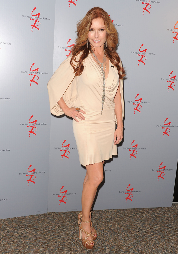 ". Actress Tracey E. Bregman attends the 40 years of ""The Young and The Restless\"" celebration presented by SAG-AFTRA at SAG-AFTRA on June 4, 2013 in Los Angeles, California.  (Photo by Angela Weiss/Getty Images)"