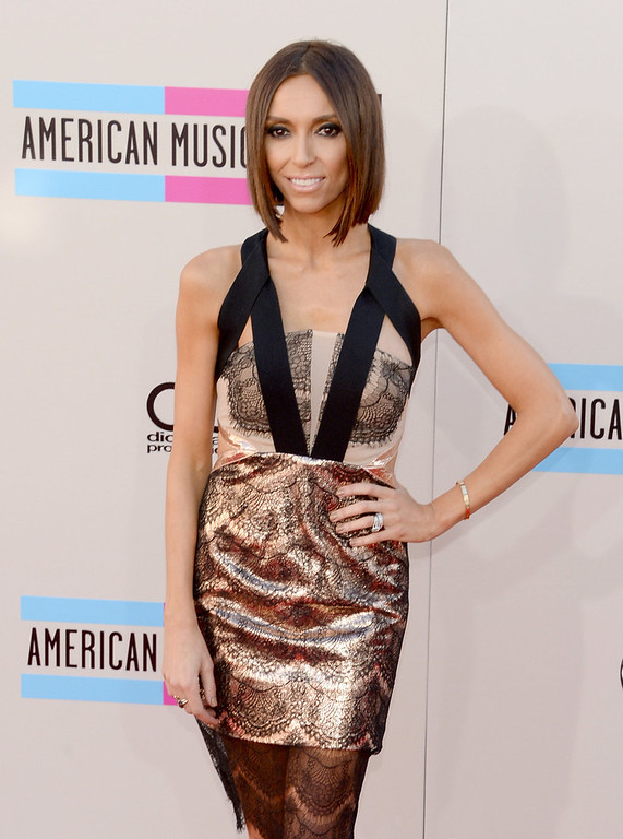 . Television personality Giuliana Rancic attends the 2013 American Music Awards at Nokia Theatre L.A. Live on November 24, 2013 in Los Angeles, California.  (Photo by Jason Kempin/Getty Images)