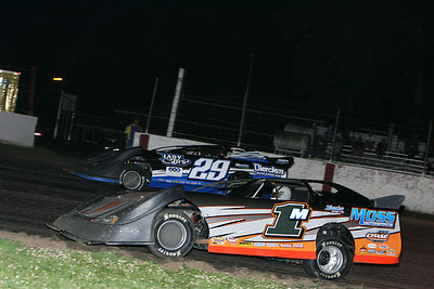 Deery Brothers Late Model event 7/10/13