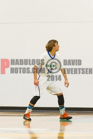 Windermere Prep @ Cornerstone Charter Academy Ducks Boys JV Basketball - 2014