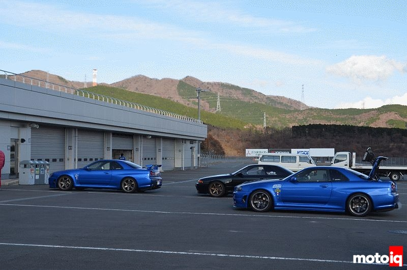 fuji speedway skylines