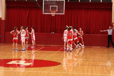 Girls Freshman Basketball - 2010-2011 - 1/13/2011 Spring Lake