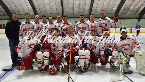 Hockey  Boston vs Detroit Fire, Murphy Rink