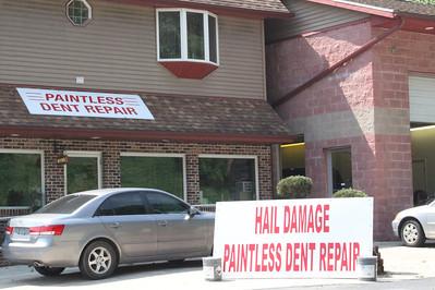 Dent Repair, Hope's Towing, Tamaqua (5-27-2011)