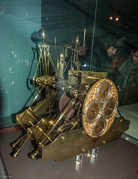 "H1 - John Harrison's first clock, submitted to solve ""the longitude problem""."