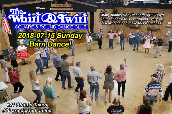 2018-07-15 WT Barn Dance!