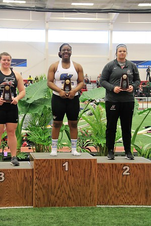 2019-03-09 NCAA D2 Indoor Track and Field Championship - Podium