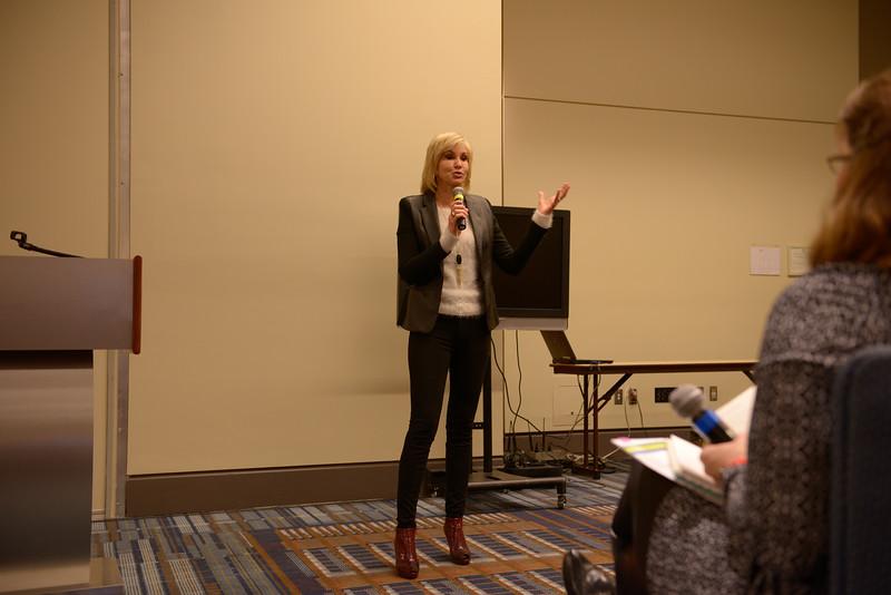 Diane Lampe at the NatCon15 Women's Seminar