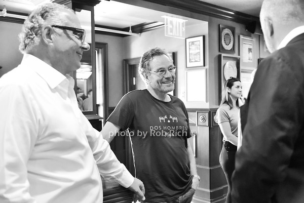 Actors Bryan  Cranston & Aaron Paul visit Bryant & Cooper, Cippolini, and Toku restaurants  in Manhasset on 5-26-21.  all photos by Rob Rich/SocietyAllure.com ©2021 robrich101@gmail.com 516-676-3939