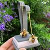 Vintage Bee Conversion Earrings 28