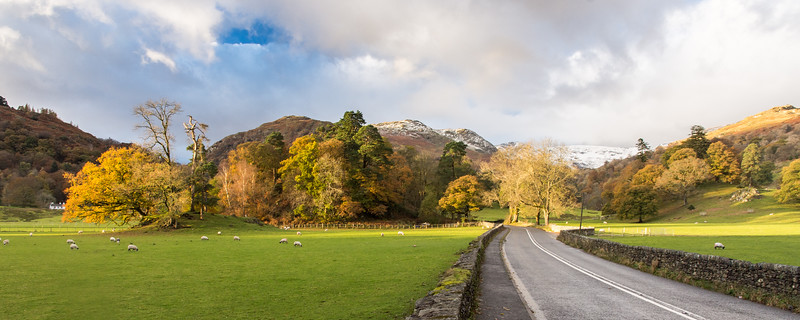 Rathay valley in the Lake District