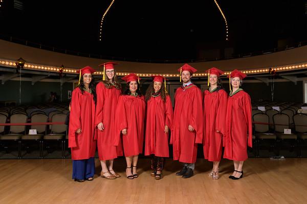 Graduation - Santa Cruz April 2018 Groups
