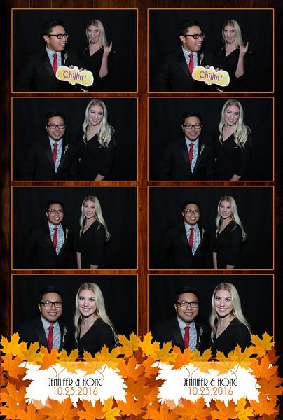 Jennifer & Hong October 23, 2016