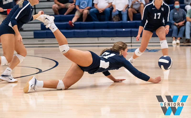 8-25-2020 HVA vs Anderson Co Volleyball