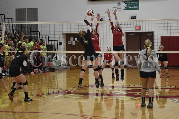 10-20-15 Sports North Central @ Hicksville sectional VB